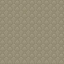 Gold Sand Flamestitch Drapery and Upholstery Fabric by S. Harris