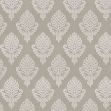 Platinum Medallion Drapery and Upholstery Fabric by Fabricut