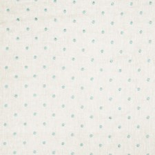 Turquoise Embroidery Drapery and Upholstery Fabric by Fabricut