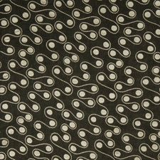 Black Embroidery Drapery and Upholstery Fabric by Fabricut