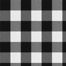Domino Check Drapery and Upholstery Fabric by Fabricut