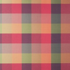 Berry Check Drapery and Upholstery Fabric by Fabricut