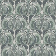 Aquastone Geometric Drapery and Upholstery Fabric by S. Harris