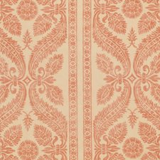 Salmon Print Pattern Drapery and Upholstery Fabric by Vervain