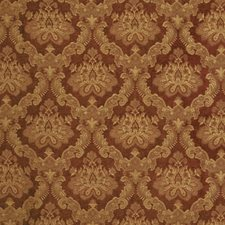 Auburn Damask Drapery and Upholstery Fabric by Vervain