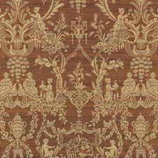Nutmeg Asian Drapery and Upholstery Fabric by Vervain