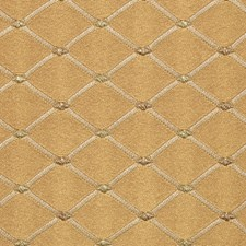 Brass Drapery and Upholstery Fabric by Vervain