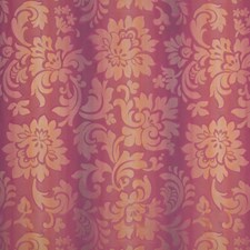 Plum Floral Drapery and Upholstery Fabric by Vervain