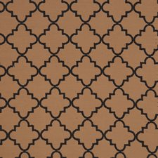 Mink Lattice Drapery and Upholstery Fabric by Vervain