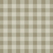 Linen Check Drapery and Upholstery Fabric by Vervain