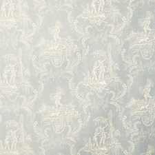 Silversage Toile Drapery and Upholstery Fabric by Vervain