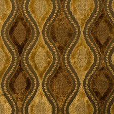 Toffee Jacquard Pattern Drapery and Upholstery Fabric by Vervain