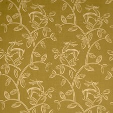 Moss Animal Drapery and Upholstery Fabric by Vervain