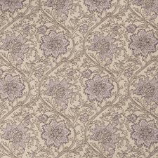 Orchid Floral Drapery and Upholstery Fabric by Stroheim