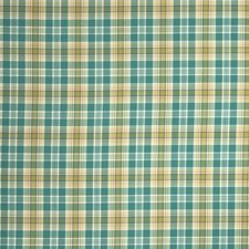 Seajade Check Drapery and Upholstery Fabric by Stroheim