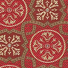 Coral Drapery and Upholstery Fabric by Robert Allen