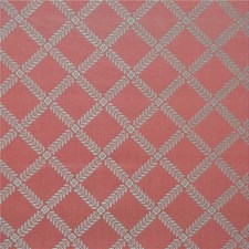 Pink Lattice Drapery and Upholstery Fabric by Kravet