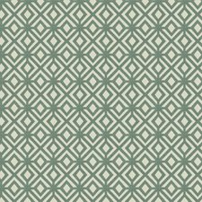 Spa Geometric Drapery and Upholstery Fabric by Trend