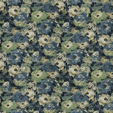 Deepwater Floral Drapery and Upholstery Fabric by Fabricut