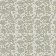 Gray Embroidery Drapery and Upholstery Fabric by Trend