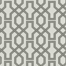 Graphite Lattice Drapery and Upholstery Fabric by Trend
