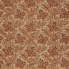 Rouge Jacobean Drapery and Upholstery Fabric by Fabricut