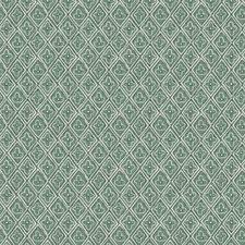 Viridian Print Pattern Drapery and Upholstery Fabric by Fabricut