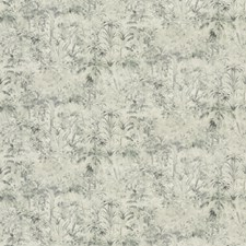 Grey Print Pattern Drapery and Upholstery Fabric by Trend