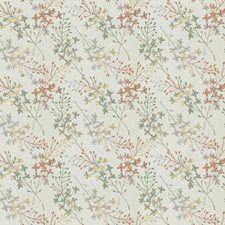 Bouquet Embroidery Drapery and Upholstery Fabric by Fabricut