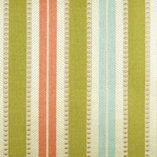 Green/melon Drapery and Upholstery Fabric by Duralee