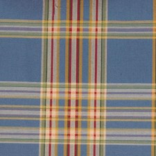 Blue/primary Drapery and Upholstery Fabric by Duralee