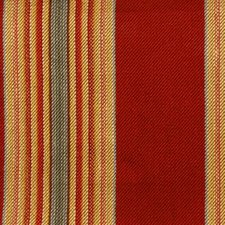 Red/jade Drapery and Upholstery Fabric by Duralee