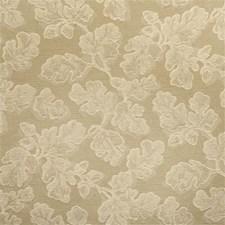 Beige/Light Green Botanical Drapery and Upholstery Fabric by Kravet