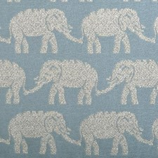 Aqua Animal Drapery and Upholstery Fabric by Duralee