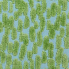 Aqua/Green Abstract Drapery and Upholstery Fabric by Duralee