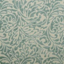 Turquoise Chenille Drapery and Upholstery Fabric by Duralee