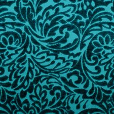 Peacock Chenille Drapery and Upholstery Fabric by Duralee
