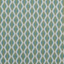 Aqua/Green Diamond Drapery and Upholstery Fabric by Duralee