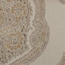 Antique Gold Medallion Drapery and Upholstery Fabric by Duralee