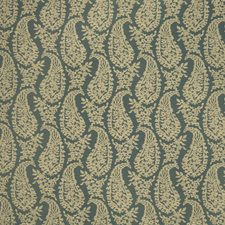 Turquoise Global Drapery and Upholstery Fabric by Fabricut