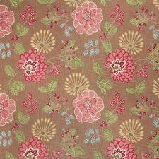Caramel Print Pattern Drapery and Upholstery Fabric by Fabricut
