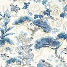 Porcelain Drapery and Upholstery Fabric by Scalamandre
