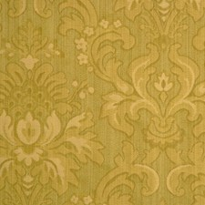 Lime Botanical Foliage Drapery and Upholstery Fabric by RM Coco