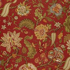 Paprika Drapery and Upholstery Fabric by Schumacher