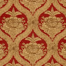 Venetian Red Drapery and Upholstery Fabric by Schumacher