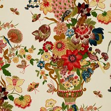 Spring Drapery and Upholstery Fabric by Schumacher