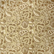 Spring Green Floral Drapery and Upholstery Fabric by Fabricut