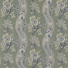 Gris/Bleu Drapery and Upholstery Fabric by Schumacher
