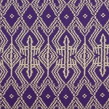 Violet Drapery and Upholstery Fabric by Schumacher