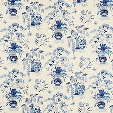 Porcelain Drapery and Upholstery Fabric by Schumacher